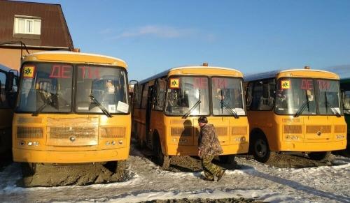 Почти новогодний подарок. Уйский район выиграл по конкурсу новый школьный автобус